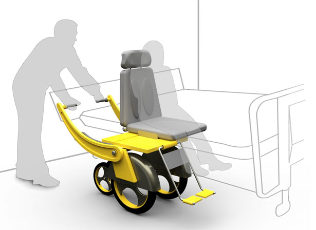 Sliding Wheelchair