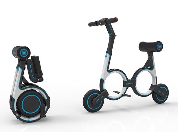 Smacircle S1 Foldable Electric Bike Fits Inside Your Backpack