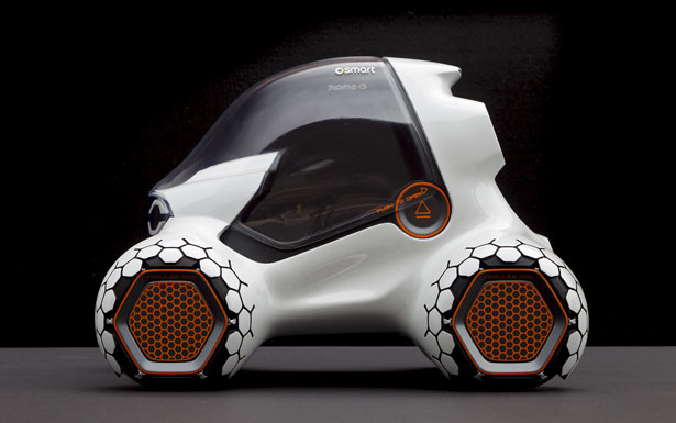 Smart 341 Parkour Future Vehicle Concept by Sylvain Wehnert, Emiel Burki and Phillipp Haban