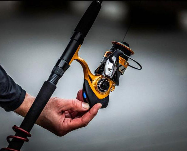 First Time Fishing? Tackobox Smart Connect Gold Series Spinning Reel With Bluetooth Makes Everything Easy