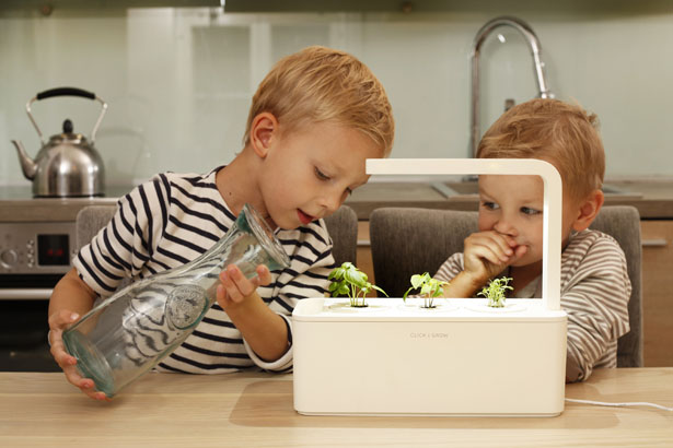 Smart Herb Garden by Click and Grow