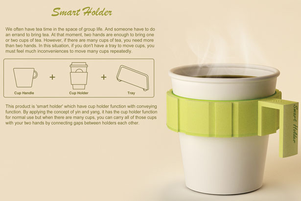 Smart Holder by Ryan Jongwoo Choi