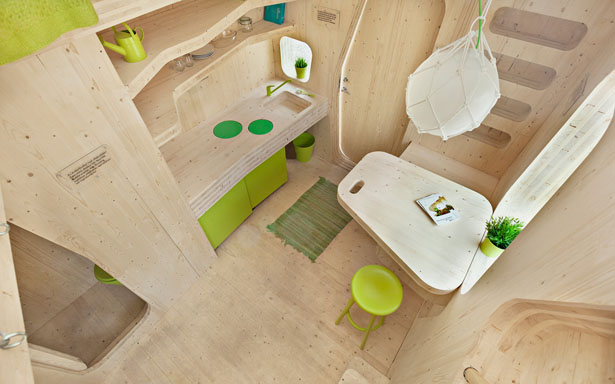 Smart Student Units by Tengbom Architects