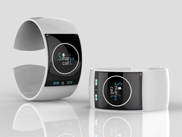 Smartcall Smart Watch for Hearing Impaired People by Raees PK