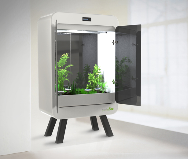 SmartGreenHouse Indoor Growing System by Massimo Battaglia
