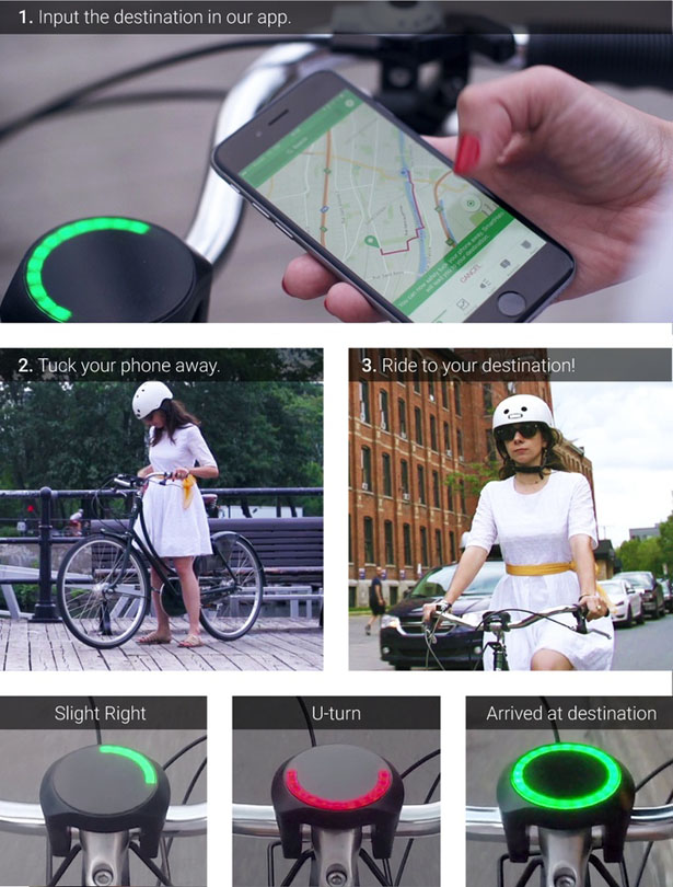 SmartHalo Transforms Your Bike into a smart bike by CycleLabs