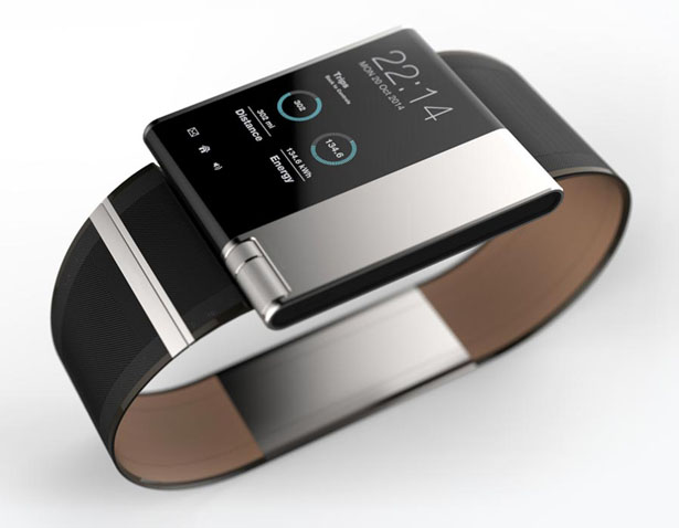 Smartwatch A Concept Watch by Andrea Ponti