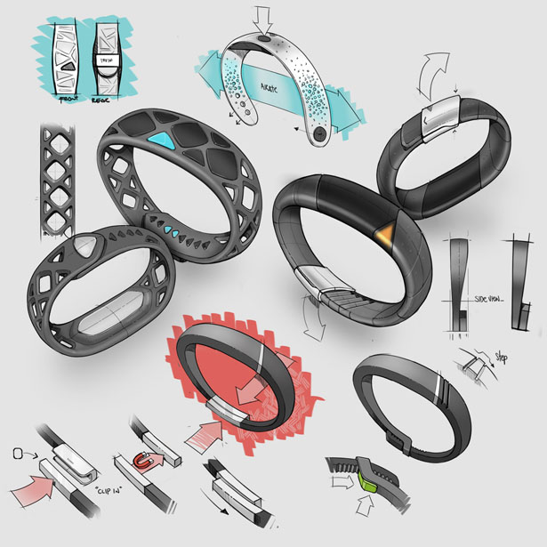 Smash Wearable Wristband by Katapult Design