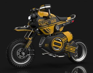 SMC-360 Off-Road Motorcycle Adapts to Variety Challenging Riding Conditions