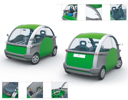 Smooth Car Concept  for Urban Vehicle