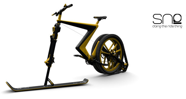 Sno snow bike concept by venn industrial design for Design consultancy