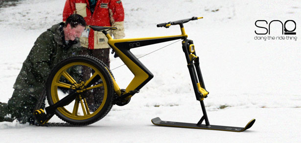 sno snow bike concept by venn industrial design