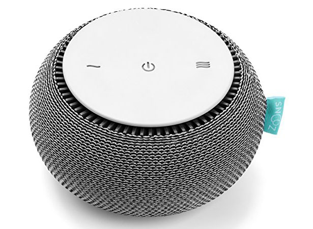 SNOOZ White Noise Machine with Real Fan Inside