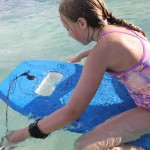 Snorkelboard : Swim Board with Anti-Fog Goggles