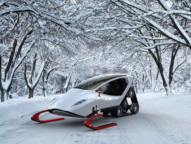 Snow Crawler : A Snow Mobile That Will Make You Love Winter