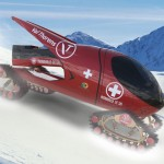 Snowsports Rescue Vehicle: Modular Ski Rescue Vehicle with Dual Function