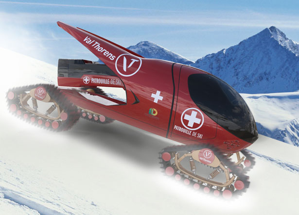 Snowsports Rescue Vehicle by James Langton