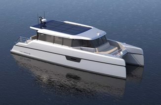 Soel Senses 48 Solar Electric Yacht Designed for Private Leisure with Families and Friends