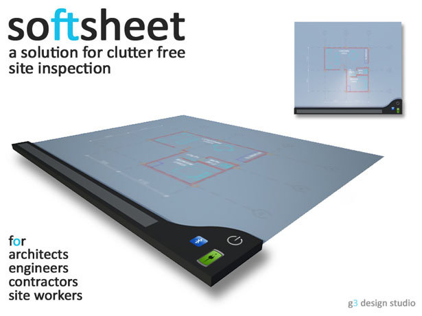 SoftSheet Device by Gautham R Varma