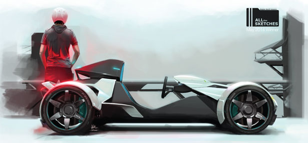SOL.E Personal Car by Adam Carvalho