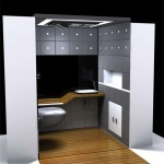 Solar Decathlon Wet Shower Concept for Universal User