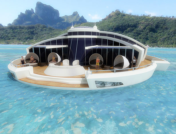 Solar Floating Resort by Michele Puzzolante