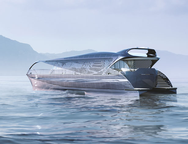 Solar Impact Yacht - Solar Powered Yacht