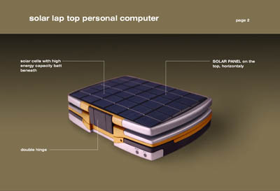 future solar notebook concept