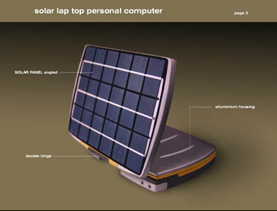 solar notebook independent power source