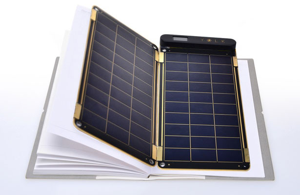 Solar Paper - the world's thinnest and lightest solar charger by Yolk