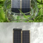 Solar Paper : Paper Thin Solar Charger With Auto-Reset Technology for Stable Charging