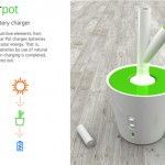Solar Pot Can Charge Your Battery Under The Sun