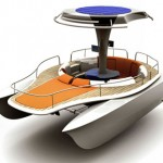Solar and Human Powered Boat Concept