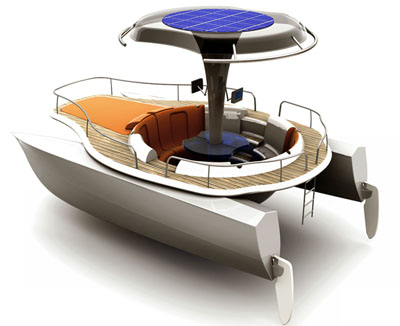 future solar powered boat