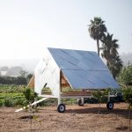 Solar-Powered Chicken Caravan Opens In The Morning and Closes After Sunset