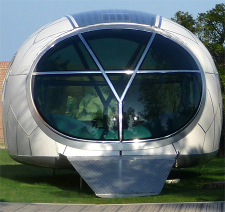 solar powered mobile entertaining lounge mercury house one