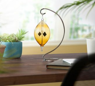 Solar Radiometer Uses Thermal Transpiration to Spin Its Blades