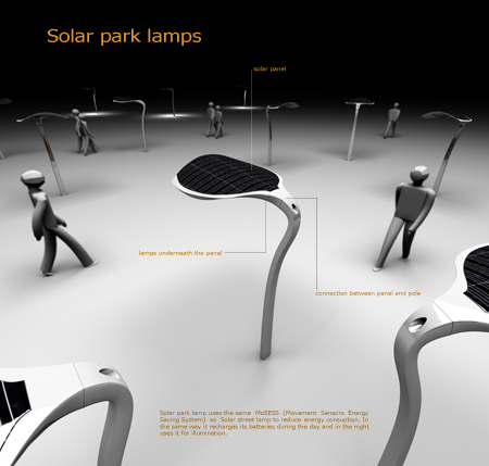 solar powered street concept