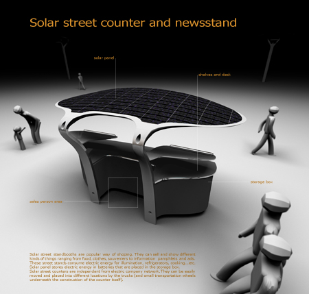 design solar powered street concept