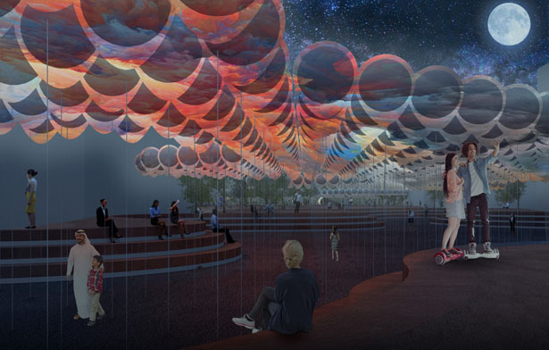 SolarCloud Balloons by Superspace