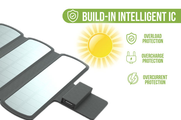 SolarCru - Ultralight and Rollable Solar Panel Charger