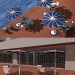 SOLARIS : Eco Friendly Sun Shading System For Outdoor Public Spaces