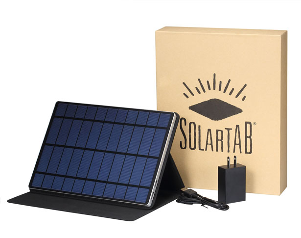 Solartab : Portable Solar Charger for Mobile Devices
