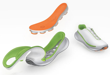 solay running modular shoe concept