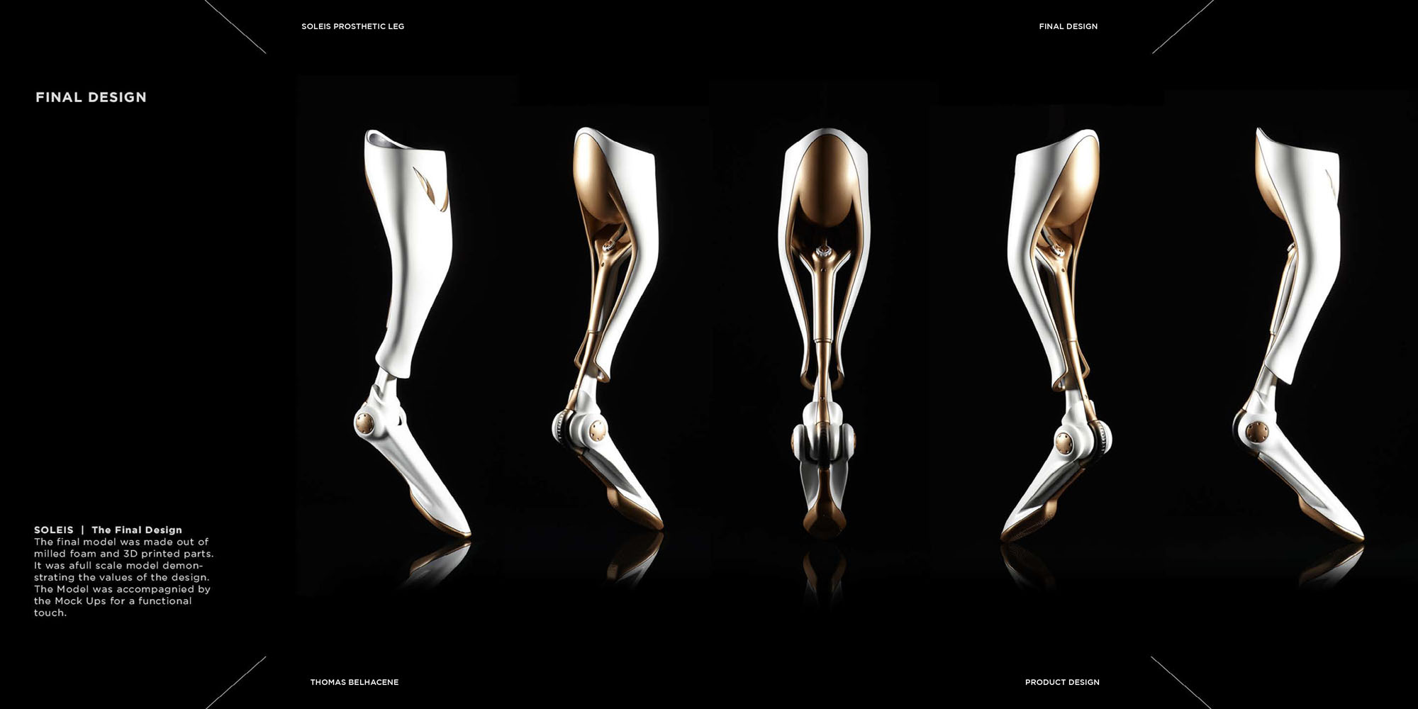 Soleis Prosthetic Leg Concept By Thomas Belhacene Tuvie