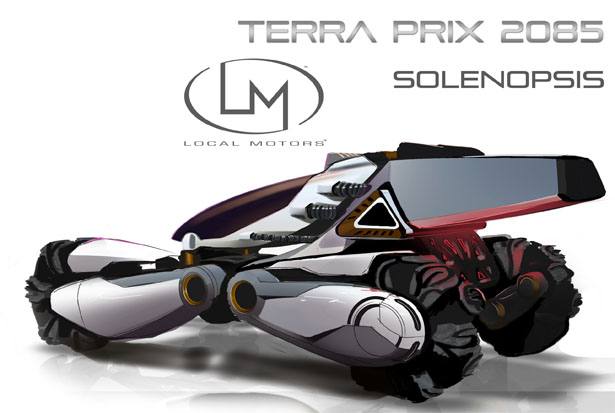 Solenopsis Race Vehicle for 2085