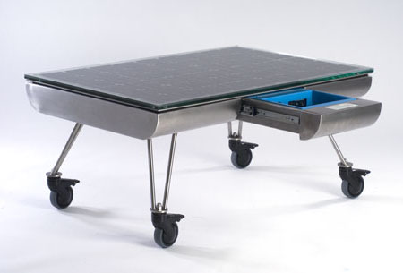 SOLo Lounge Table, A Table That Collects Solar Energy