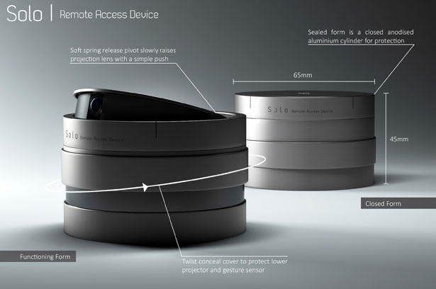 Solo Remote Access Device by Alexander Morrison