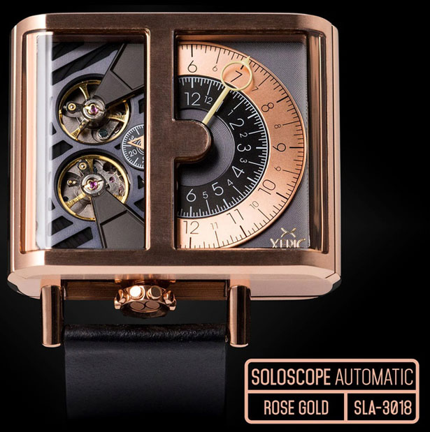 SOLOSCOPE Automatic Watch by XERIC