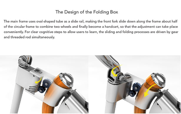 Somerset Folding Bike Features Oval Shaped Frame for Convenient Carrying in Public Transportation